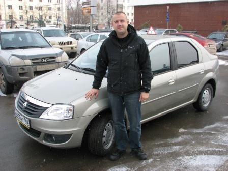 RENAULT LOGAN (2011) механическая КПП.  Кочешев Илья Сергеевич.